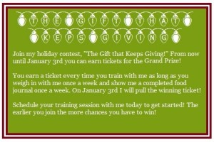Holiday Fitness Contest