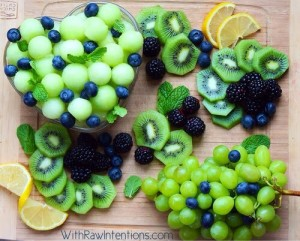 Blue & Green Snacks to Celebrate the Seahawks!