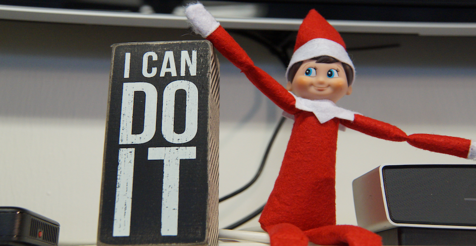Holiday Workouts with Pep the Elf
